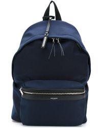 Saint Laurent - Classic City Backpack - Lyst