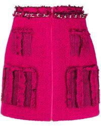 Loulou ニットミニスカート - ピンク