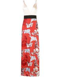 Johanna Ortiz - Robe longue à fleurs - Lyst