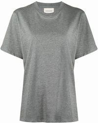 Loulou Arbori コットン Tシャツ - グレー