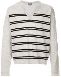 Lanvin ストライプ セーター - グレー