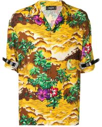 DSquared² - Novelty Print Shirt - Lyst