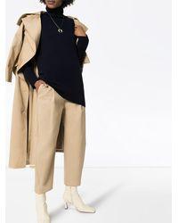 PLY KNITS カシミア セーター - ブルー