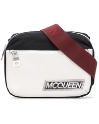 Alexander McQueen Heuptas Met Logopatch - Zwart