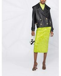 Balmain Двубортная Куртка - Многоцветный