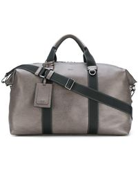 BOSS - Zip-up Embossed Holdall - Lyst