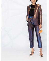 Karl Lagerfeld テーパードパンツ - ブルー
