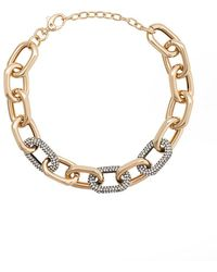Lele Sadoughi - Choker Chain Necklace - Lyst