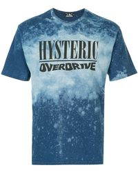Hysteric Glamour - Hysteric Overdrive Print T-shirt - Lyst