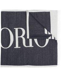 Emporio Armani - ロゴ スカーフ - Lyst