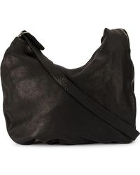 a142907b18 Guidi Women s Black Shoulder Bag in Black - Lyst