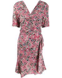 Isabel Marant Arodie ドレス - ピンク