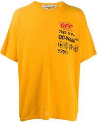 Off-White c/o Virgil Abloh - ロゴ オーバーサイズ Tシャツ - Lyst