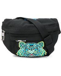 KENZO Поясная Мини-сумка Kampus Tiger - Черный
