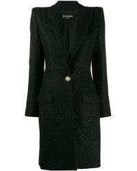 Balmain シングルコート - ブラック