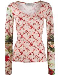 Preen By Thornton Bregazzi - Yae Floral Patterned Top - Lyst