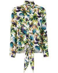 Amir Slama Printed Silk Shirt - Многоцветный
