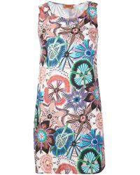 Missoni - Floral Print Flared Dress - Lyst