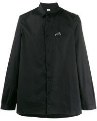 A_COLD_WALL* オーバーサイズ ロゴ シャツ - ブラック