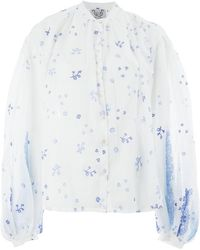 Thierry Colson - Floral Blouse - Lyst
