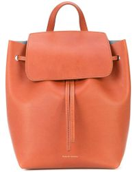 Mansur Gavriel - Mini Drawstring Backpack - Lyst
