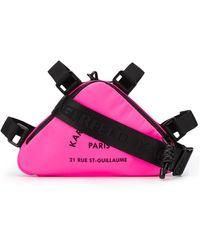 Karl Lagerfeld 'Rue St Guillaume' Umhängetasche - Pink
