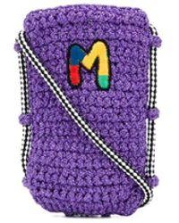 M Missoni ロゴ ショルダーバッグ - パープル