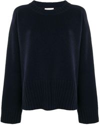 6397 Knitted Jumper - Blue