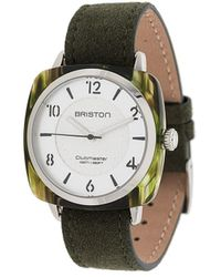 Briston Clubmaster Elements Watch - Green