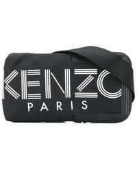 KENZO Bandolera para iPhone con estampado del logo - Negro