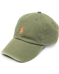 Polo Ralph Lauren Logo-embroidered Cotton Baseball Cap - Green