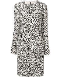 Givenchy - Leopard Print Dress - Lyst