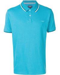 Woolrich ロゴ ポロシャツ - ブルー