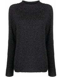 Filippa K ファンネルネック セーター - ブラック