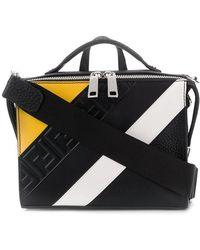 a391a6e5ad25 Lyst - Fendi Mini Messenger Shoulder Bag in Gray for Men