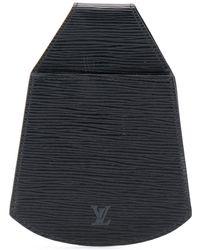 Louis Vuitton Поясной Клатч Épi Pre-owned - Черный