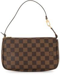 Louis Vuitton Мини-сумка Pochette Accessories 2008-го Года - Коричневый