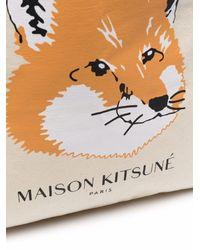 Maison Kitsuné フォックス トートバッグ - マルチカラー