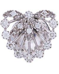 Yvonne Léon | Feuillage Diamond Stud Earring | Lyst
