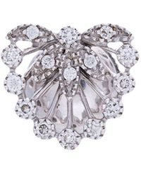 Yvonne Léon - Feuillage Diamond Stud Earring - Lyst