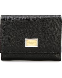Dolce & Gabbana 'dauphine' Wallet - Zwart