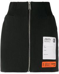 Heron Preston ミニスカート - ブラック