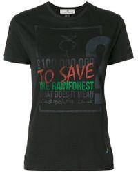 Vivienne Westwood Red Label - Designer Print T-shirt - Lyst
