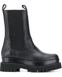 Paloma Barceló プラットフォーム ブーツ - ブラック