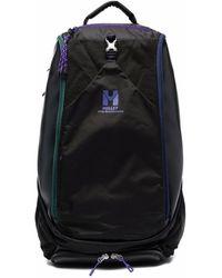 White Mountaineering Logo-printed Backpack - Black