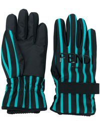Fendi - Winter Striped Gloves - Lyst