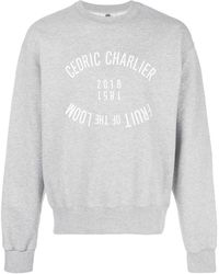 Cedric Charlier Sudadera Fruit of the Loom - Gris