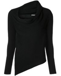 TOME - Cowl Neck Jumper - Lyst
