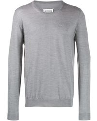 Maison Margiela - ラウンドネックセーター - Lyst