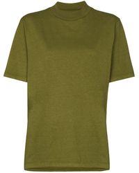Les Tien ハイネック Tシャツ - グリーン